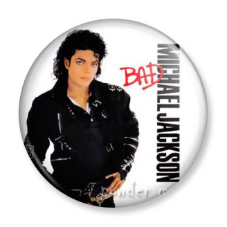 Badge : Michael Jackson - Bad