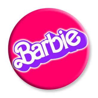 Badge : Logo de Barbie