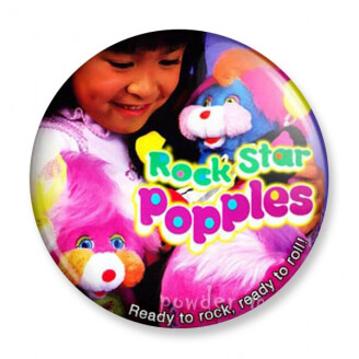 Badge : Popples - Rock Star
