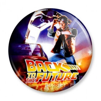 Badge : Retour vers le futur - Marty