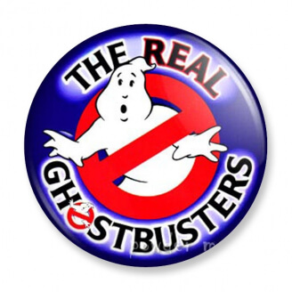 Badge : SOS Fantômes - The Real Ghostbusters