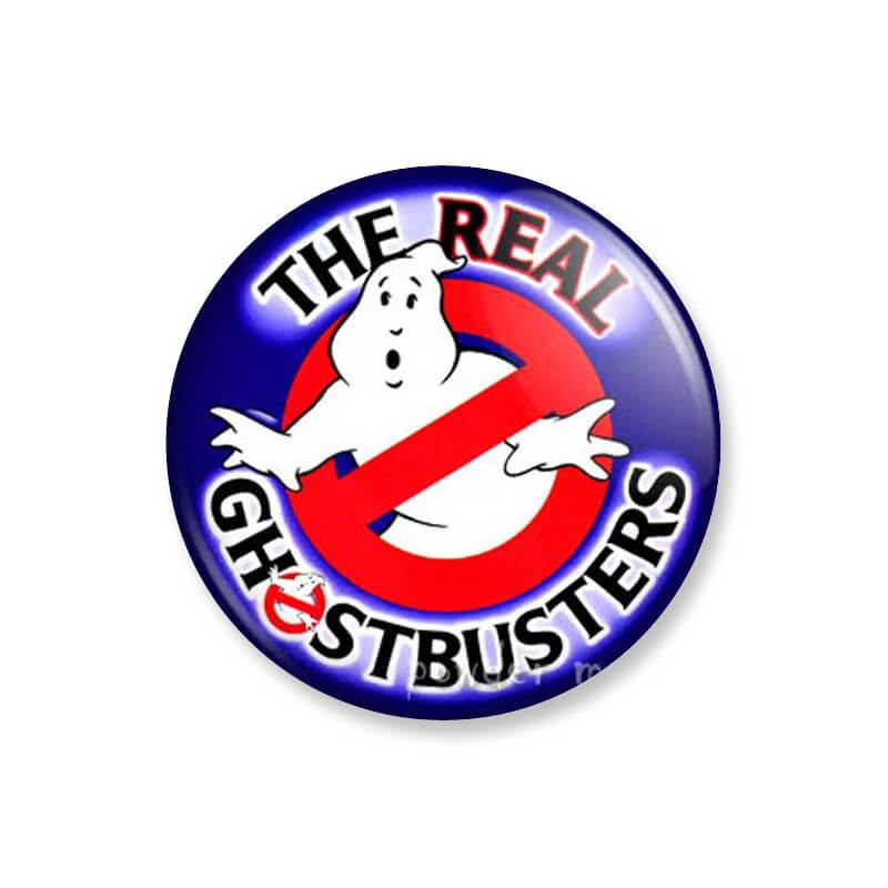 badge dessin anim sos fant mes the real ghostbusters. Black Bedroom Furniture Sets. Home Design Ideas