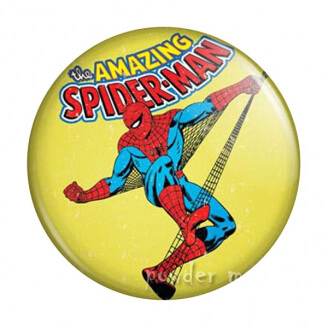 Badge : Spiderman - Marvel