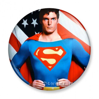 Badge : Superman