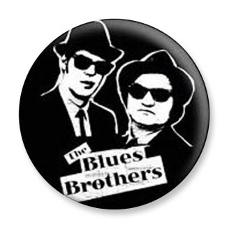 Badge : The Blues Brothers