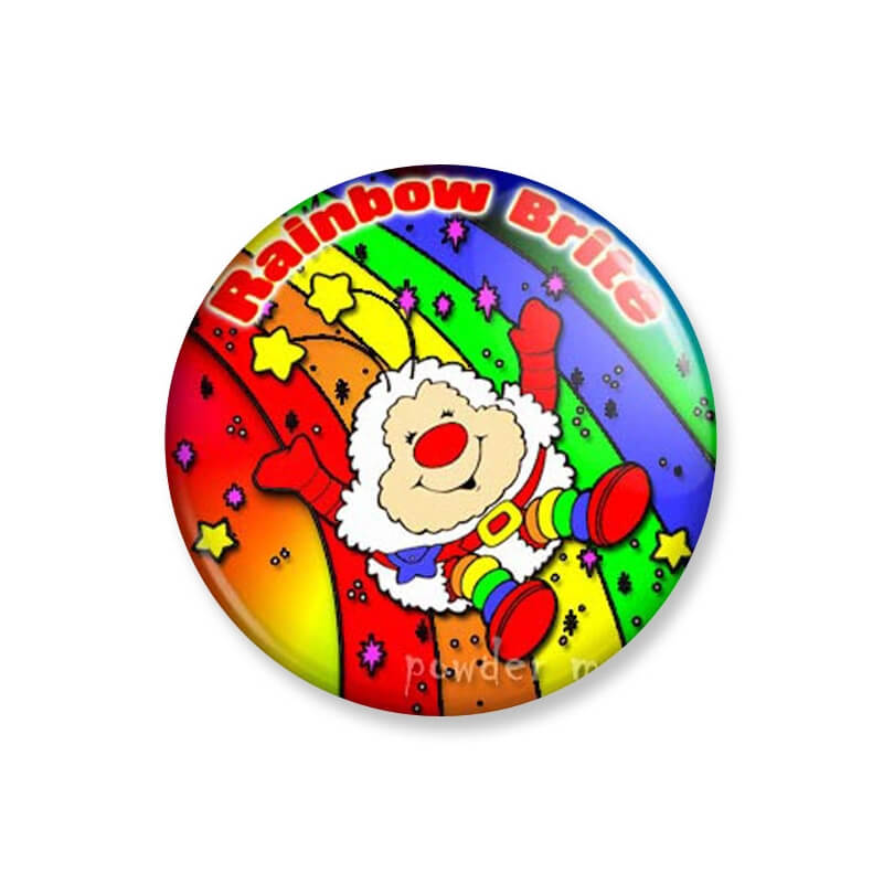 Badge : Rainbow Brite - Petit malin