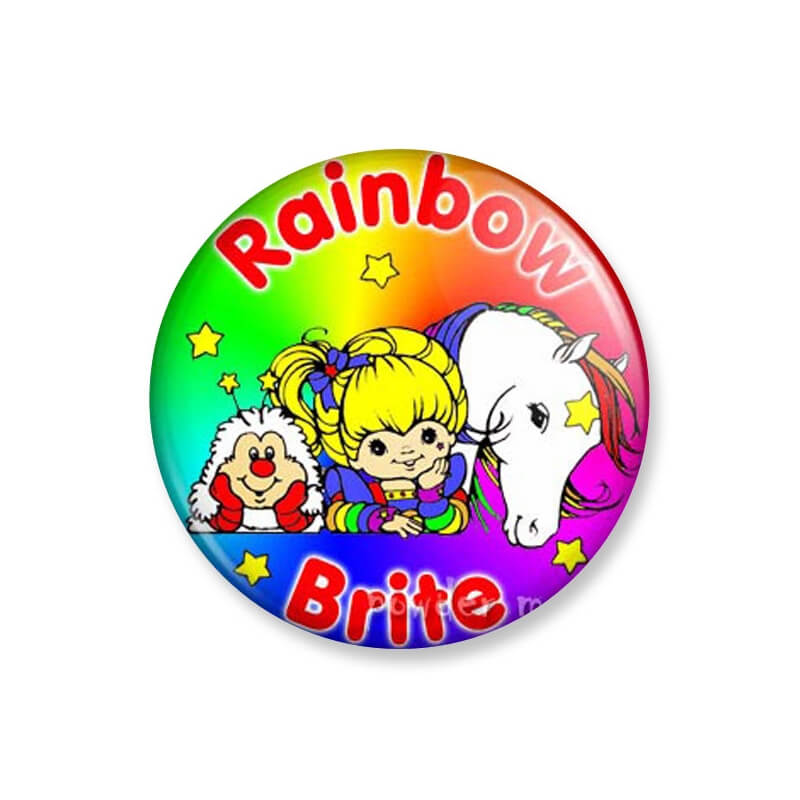 Badge : Rainbow Brite