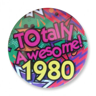 Badge : Totally Awesome 1980