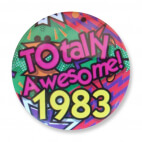 Badge : Totally Awesome 1983