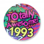 Badge : Totally Awesome 1993