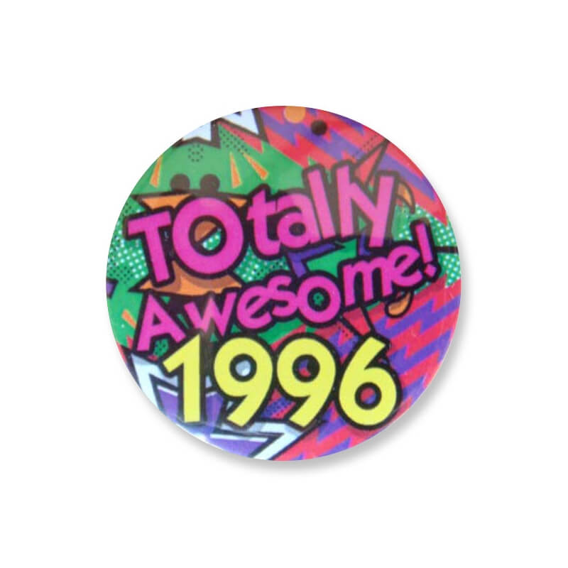 Badge : Totally Awesome 1996