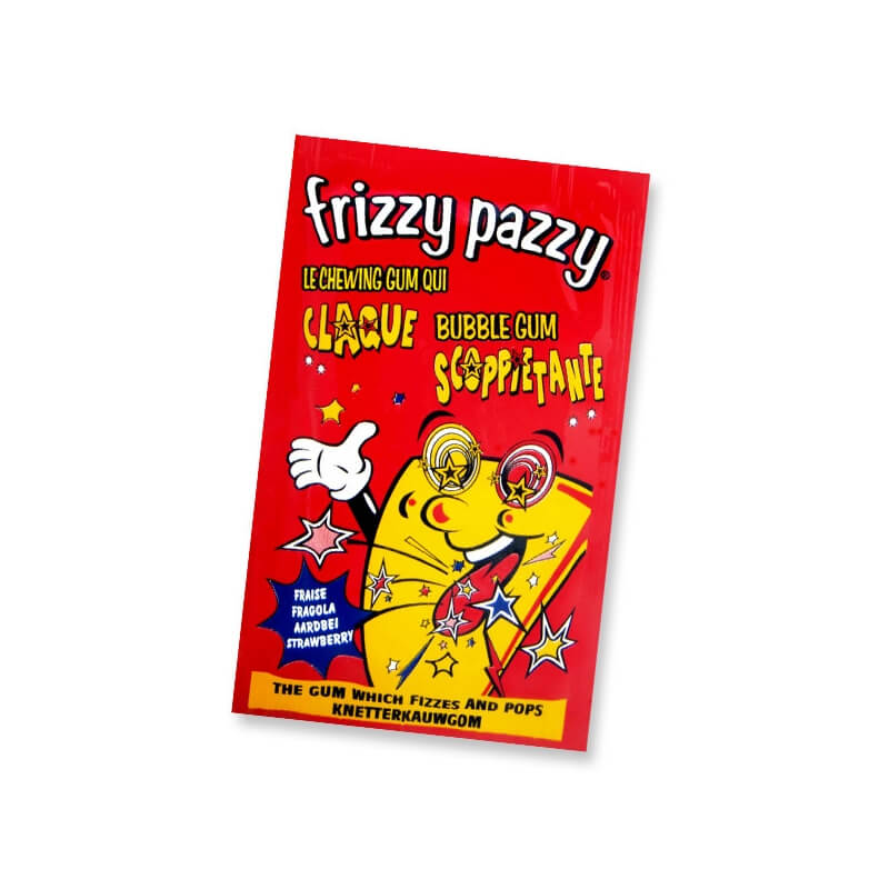 Chewing-gum : Frizzy Pazzy