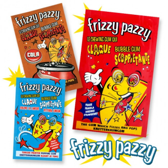 Chewing-gum : Frizzy Pazzy - Lot de 2