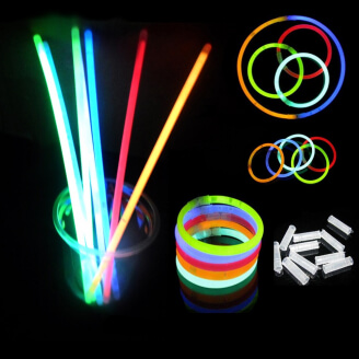 Lot de 50 bracelets fluorescents lumineux