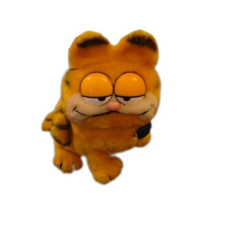 Peluche Vintage : Garfield assis