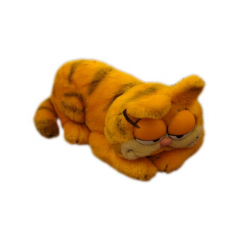 Peluche Vintage : Garfield allongé