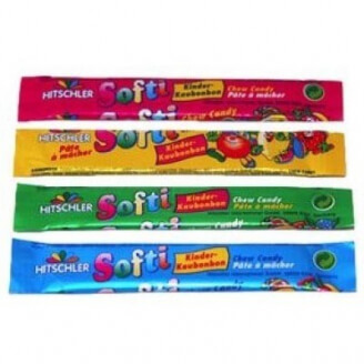 Pâte à macher SOFTI - Goût fruits - Lot de 10