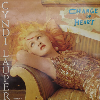 Cyndi Lauper - Chance of heart