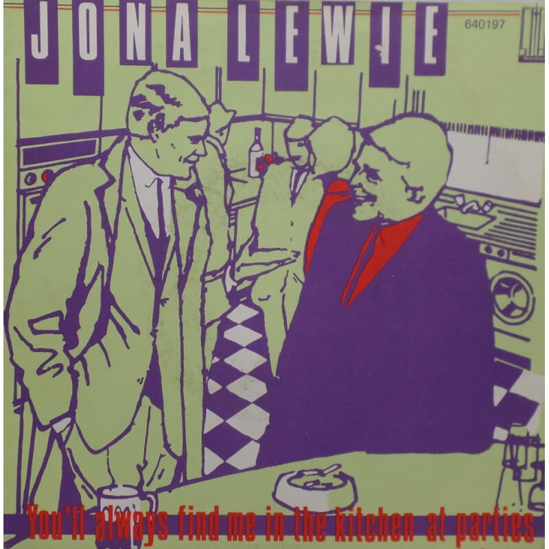 Jona Lewie - You'll always find me in the kitchen at parties