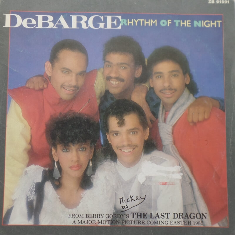DeBarge - Rythm of the night