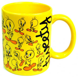 Mug - Looney Tunes - Collage Titi