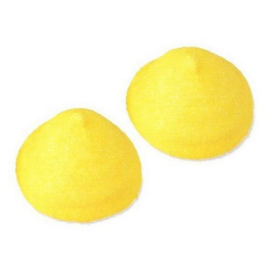 Guimauves Balles de Golf - Banane - Lot de 10