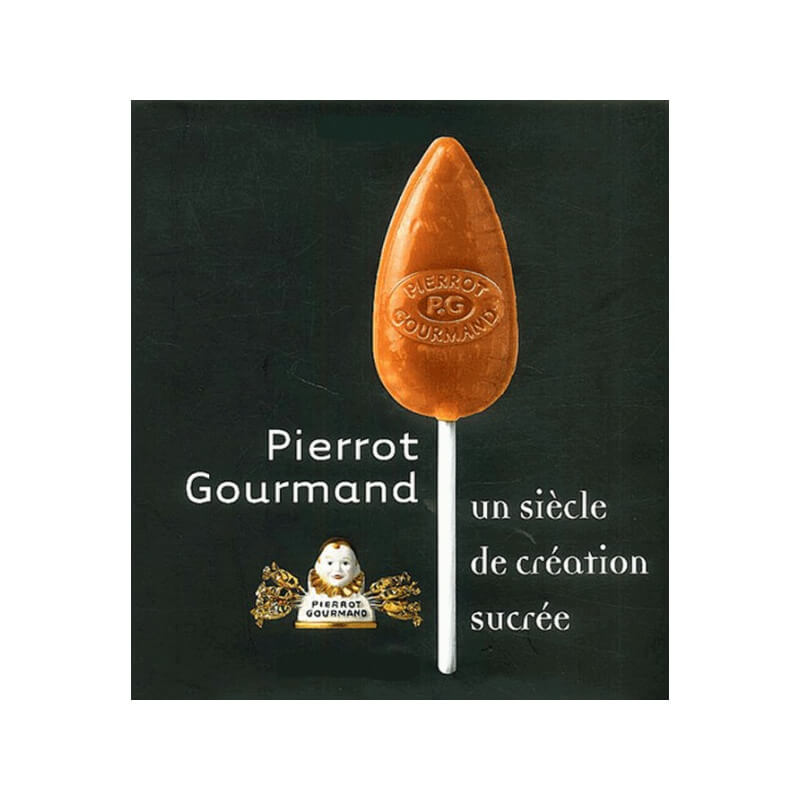 Sucette Pierrot Gourmand Caramal