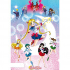 Poster Sailor Moon - Moonlight Power