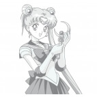 T-shirt Sailor Moon