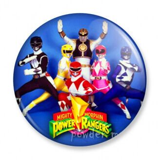 Badge : Power Rangers