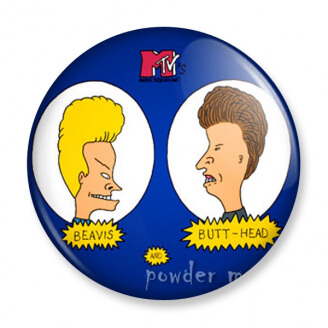Badge : Beavis et Butt-Head