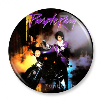 Badge : Prince - Purple Rain