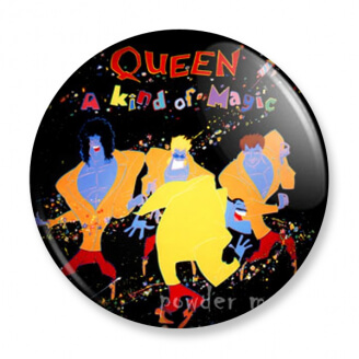 Badge : Queen - A kind of magic