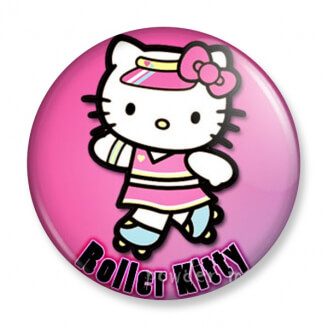 Badge : Hello Kitty - Roller