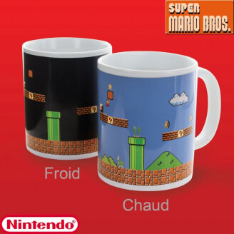 Mug Super Mario Bros - Thermoréactif