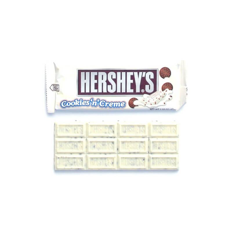 Barre chocolatée Hershey's Cookies and Creme