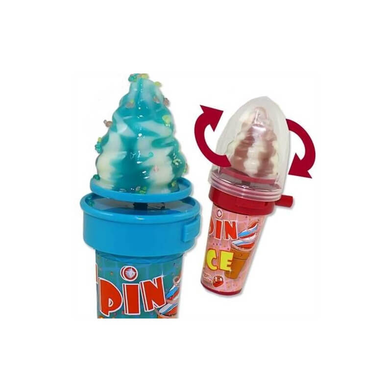 Sucette Cornet de glace - Spin Ice Candy