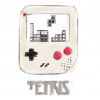 T-shirt Game Boy Tetris
