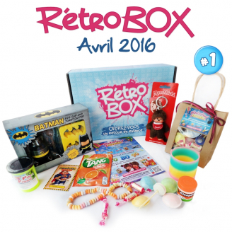 Rétro Box N°1 - Avril