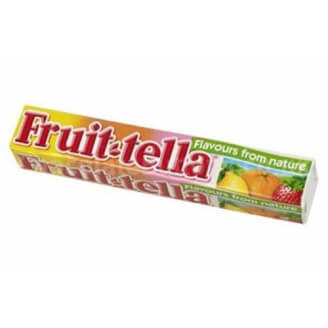 Fruit-tella au jus de fruit