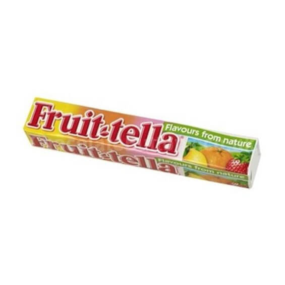 Bonbon Fruit-tella aux fruits