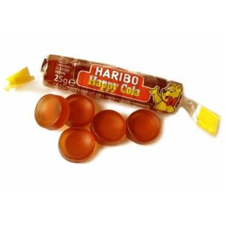 Roulette Haribo Cola - Lot de 2