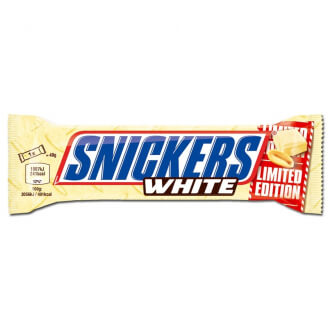 Snickers chocolat blanc - Edition Limitée