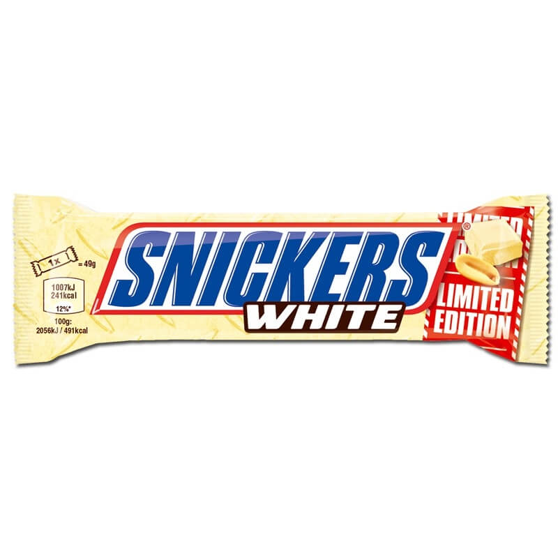 Snickers Chocolat Blanc Edition Limitée