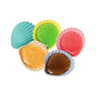Bonbon Roudoudou - Coquillage à lécher - Lot de 5