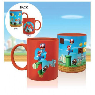 Mug Super Mario - Chaud Froid