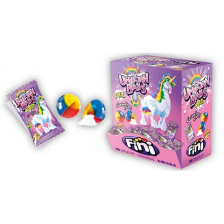 Chewing-gum Boule de Licorne - Lot de 5