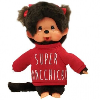 Peluche Monchhichi Sweat Fille