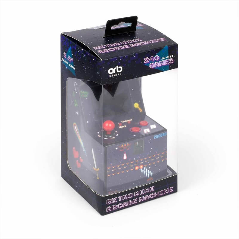 Mini Machine Arcade Retro - 240 Jeux