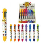 Stylo 8 couleurs Monsieur Madame